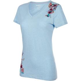 Mammut Zephira - T-shirt manches courtes Femme - bleu